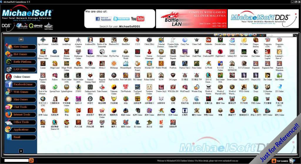 Menu Games Online Online Games