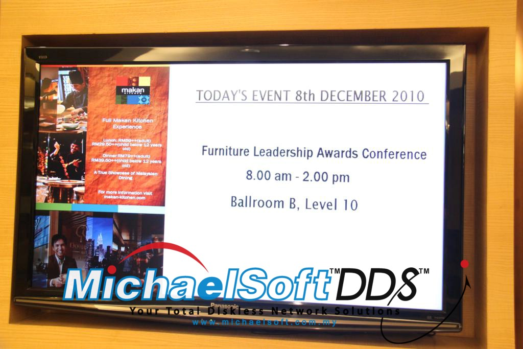 Michaelsoft DDS Diskless Solution , Cloud Computing , Diskless Cybercafe , Diskless System , Michaelsoft wins Capability Development Recognition from MDeC 08 December 2010